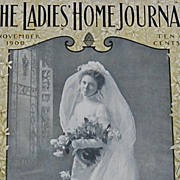 SALE November 1900 Ladies Home Journal Magazine ~ Complete