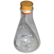 SALE Vee Gee Glassco ~ Chemistry Bottle w/ Stopper