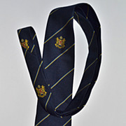 SALE SK Beveren ~ Anglo-Continental Navy Blue Men's Tie