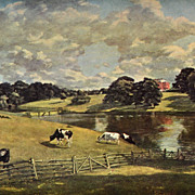 SALE Constable ~ Wivenhoe Park Reproduction Art Print