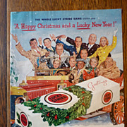 Lucky Strike Christmas Magazine Ad