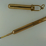 14k Gold Chatelaine Propelling Pencil