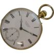 Famous  ENGLISH 18ct. Gold Brockbank & Atkins 1870 Pocket Watch