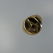 1958 Heavy MASONIC Signet Ring