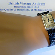 Ladies 18k & Diamond Wrist Watch
