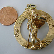 The &quot;Mother of all Saint Christopher's&quot; Gold Pendent
