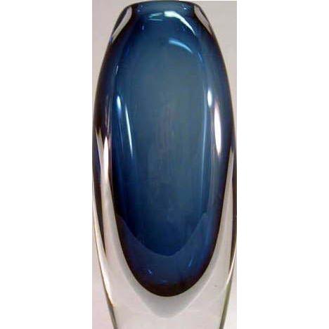 Swedish glass kosta vase by vicke lindstrand from for Deco pour vase transparent