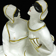Porcelain Lovers Lamp