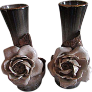 SALE VEE JACKSON ~ Ombered Rose Vases ~ What A Blend Of Earth Tones ~ ...