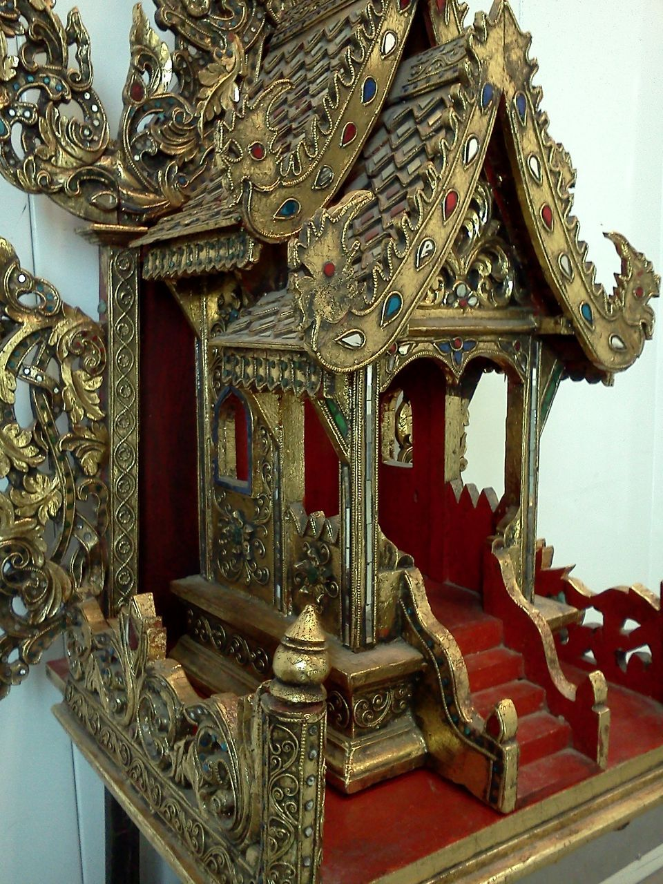 Thai Spirit House, Carved Wood