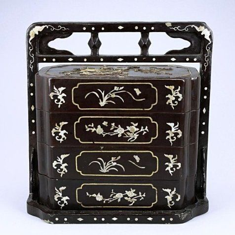 Chinese Travel or Scholar Box, Qing Dynasty