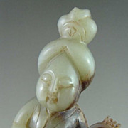 Chinese Jade Consort Musician, Tang Dynasty
