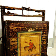 Chinese Travel Chest, 18th Century, Signed