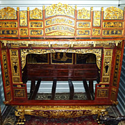 Magnificent Chinese Wedding Bed, Qing Dynasty