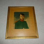 "SALE ""ERIE"" Officer believed to be Young Napoleon Bonaparte"