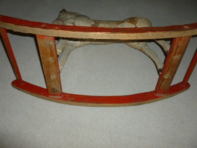 Playful  English Rocking Horse ca. 1900's