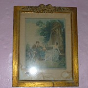 "SALE ""L' Innocence"" French Color Framed"