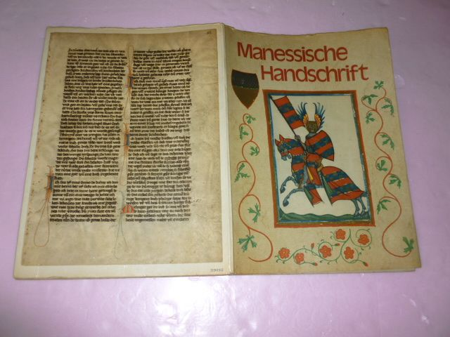 """ Manessische Handschrift"" German Color Prints of Interest"