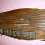"German Zither Musical Instrument ""Zerlegbar"" with Case!"