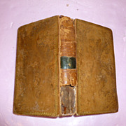Antique Classic French Book 1815