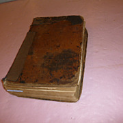 Dedicated Illustrated English Sermon Bible  1789!