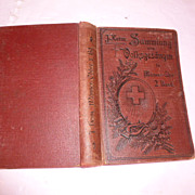 Religious, Folk, Marching Song Book: Germany 1900's
