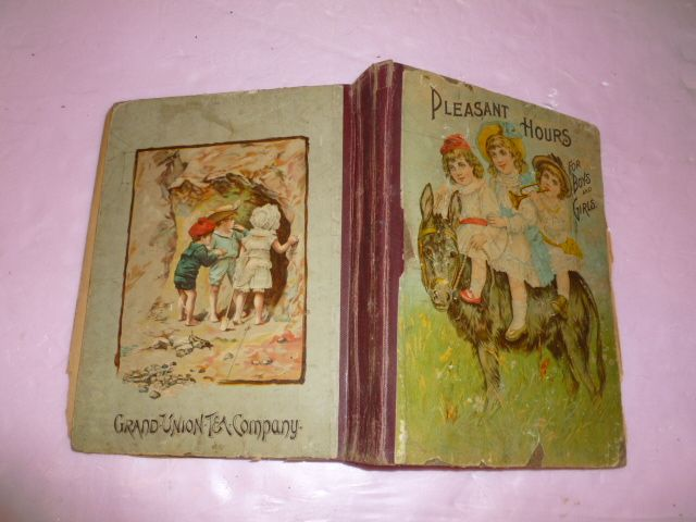 "Fun Old Children's Picture Book ""Pleasant Hours..."""