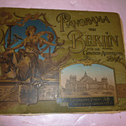 "Historical Photo Story ""Panorama von Berlin"" 1896"