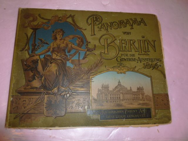 Historical Photo Story &quot;Panorama von Berlin&quot; 1896