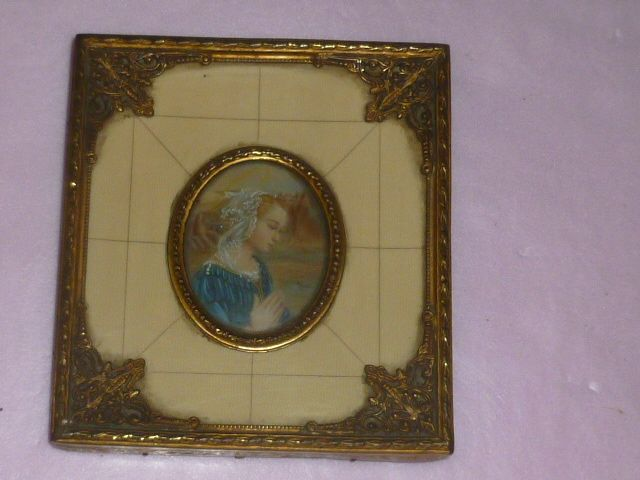 Specially Framed Picture of devoted Praying Lady