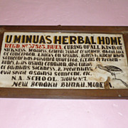 Rare African Natural Doctor's Sign Cameroon