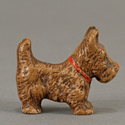 Stoneware Scottie Dog