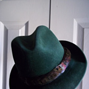 "Dunlap's ""Touch of the Irish"" Fedora"