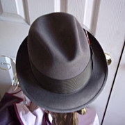 SOLD Champ Triumph Coca-Brown  Beaver Fur Felt Fedora