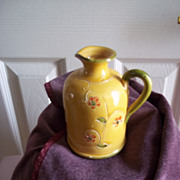 Ceramiche Virginia Gold Creamer Pitcher