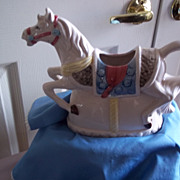 Heritage Mint Carousel Horse Milk Pitcher