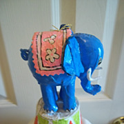Paper Mache Circus Elephant
