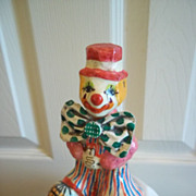"""Bows"" Hand Crafted Clown"