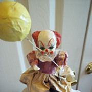 """Balloon Pants"" Hand Sculpted Clown"