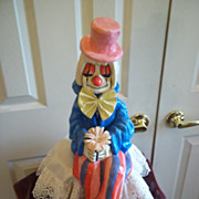 Constantino the Paper Mache Clown