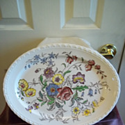 Mayflower Serving Platter By Vernon Kilns