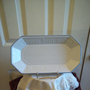 Pfaltzgraff Yorktowne China Bread Tray