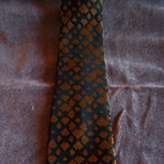 Vintage Don Loper Silk Neck Tie