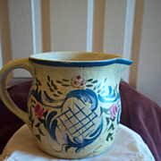 Jane Keltner Limited Edition Pottery Pitcher