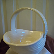 Ceramic Yellow Basket