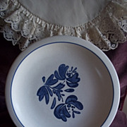 Set of 4 Pfaltzgraff Yorktowne China Dinner Plates