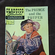 Classics Illustrated No. 29 The Prince and The Pauper July 1946