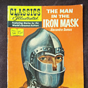 Classics Illustrated No. 54 The Man in the Iron Mask December 1948