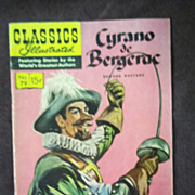 Classics Illustrated No. 79 Cyrano de Bergerac January 1951