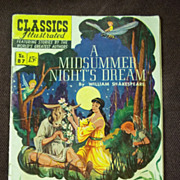 Classics Illustrated No. 87 A Midsummer Night's Dream September 1951